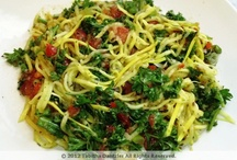 Eat Your Greens / Some healthy green cooking ideas, that will make green living seem delicious!