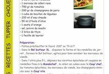recette tupperware plat