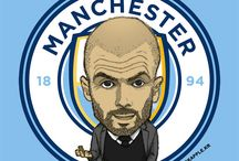 Man City Far Art 16/17 Season / 2016/2017 Season Manchester City Fan Art