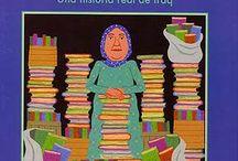 ¿Qué #libros formarían tu #biblioteca preferida? / Estamos en guerra, la biblioteca comienza a arder. ¿Qué libro salvarías? Esta es la pregunta que hicimos a los niños y niñas del Colegio Padre Enrique de Ossó de Zaragoza, tras la lectura de La bibliotecaria de Basora.