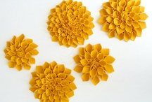 Crafting  Flowers-Felt / Flowers made from Felt / by Jane Rausch