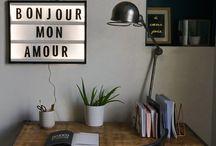 Bureau - inspiration MM² / #Workspace