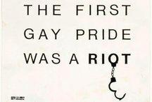 LGBTQ / We all deserve equal rights.