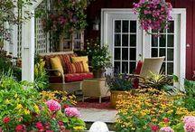 kvetinové terasy