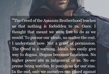 assassins creed / Because it is the best game ever and also the best historie teachers  I❤Ezio!