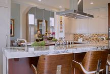 Two Toned Kitchen Remodel