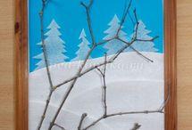 Vinter tema