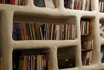 Cob House - Biblioteca