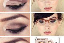 Make up for those wear glasses
