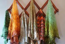 crochet e lã