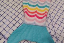 Mermaid blanket sewing pattern