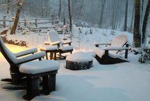 Carolina Mtn Winter Scenes