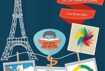FLE- La semaine de la Francophonie 2015 / Affiche