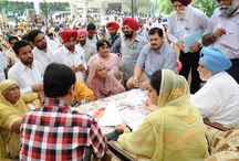 HARSIMRAT URGES CENTER-IMMEDIATELY ANNOUNCE WATER LOGGING PROJECT / Mrs. Harsimrat Kaur Badal, Member Parliament today strongly urged the Union Government to immediately announce the project to tackle gigantic problem of water logging in the state as 'National Project' besides releasing the package of Rs. 960.62 crore without any delay.
