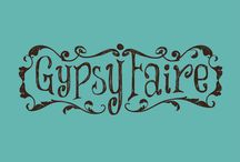 GypsyFaire colorful painted furniture / Painted furniture