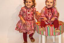 """Nuestras modelos / Las reinas de la casa son las inspiración del concepto """"Mis Polluelos, moda infantil"""""""