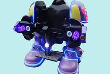 аттракцион робот