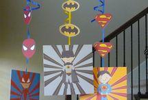 fiesta super héroes