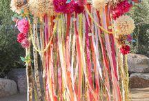 decor paper flowers