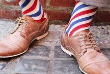 Funky Socks / #socks #accessories #clothing #fashion #mensfashion #womensfashion #clothes #colourful #brightsocks #funkysocks #threads