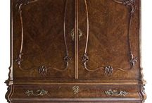 Antieke meubels en masjiene
