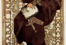 Swirls, Vintage, Art Nouveau~