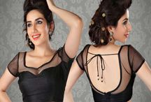 Saree Blouse / Designer Saree Blouse from India. MuHeNeRa has worlds Largest collection of Designer blouse - padded, non padded, all sizes, all patterns. visit www.muhenera.com to buy yours.