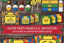 Lego Geburtstagsparty