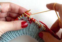 Knitting - reading patterns