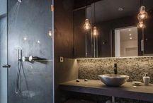 Bathroom ideas / Идеи для ванной комнаты / Раковины, плитка , идеи, дизайн и стиль ванной комнаты! Вдохновение
