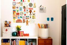 Homespace / Bright. High functioning. Juxtaposed. Eclectic. Whimsical. Classic. / by Sunny H