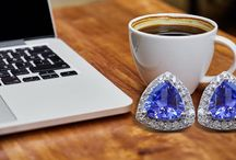 Fall In Love With Tanzanite Jewelry / Express your love differently this #fall Season with jewelry that makes you come alive