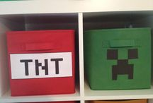 Minecraft Building Area in the Classroom