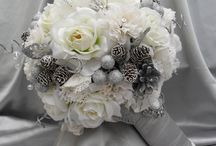 winter wedding flowers / Weddings