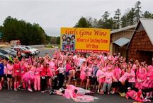 "Events at Girls Gone Wine / Annually the 1st Sunday in April ""50 Shades of Pink 7k(ish) Walk/Hike/Run"" a SUPER fun event hosted by #GirlsGoneWine near Broken Bow, Oklahoma"