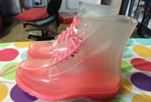 Jelly boots for sale