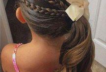 Penteado de meninas