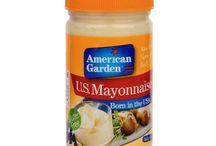 American Garden / American Garden Real Mayonooise Squeze 355 ML