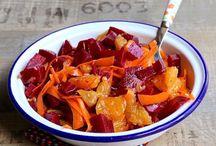 Salades sucrées salées