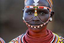 Africa Tribal adornment
