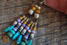Jewelery beading / oorbellen, kettingen en dergelijke allemaal met kraaltjes