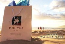 Mouche Gallery Maui / On display at our newest location in Maui at the Shops at Wailea  / by Mouche Gallery