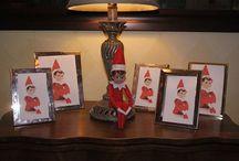 Elf on the shelf ideas.... for Fred... / by Shana Meeks