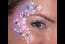 Girls Face Painting