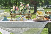 Spring lunch and High tea
