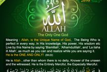 Allah's Beautiful Names