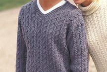Knitting  -  men