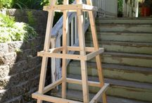 Inspiration til gør-det-selv projekter i haven / Inspiration til kommende gør-det-selv projekter i haven.