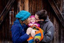 Familienfotos mit kleinen Kinder