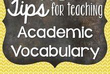 ELL - academic vocabulary